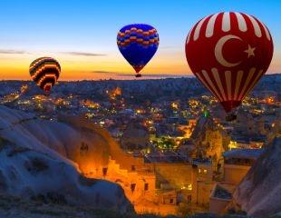 Турция во всей красе! Незабываемый полет на воздушном шаре в Каппадокии или Памукале от бюро путешествий «Вокруг света» со скидкой до 36%!