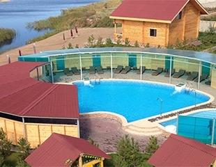 Море летних развлечений! Бассейн на открытом воздухе, посещение пляжа на речке, рыбалка, в зоне отдыха «Чистые пруды» со скидкой 50%!