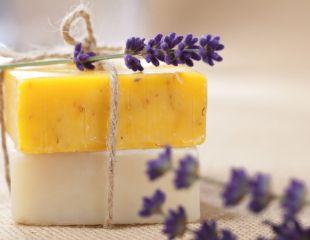 Отличный подарок на семейные праздники! Сувенирное мыло ручной работы, скрабы, бальзам для губ и даже бисер для ванн от Magic soap со скидкой 30%!