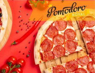 В честь открытия! Скидка 100% на аппетитные сеты с пиццей и суши в Pomodoro Royal!