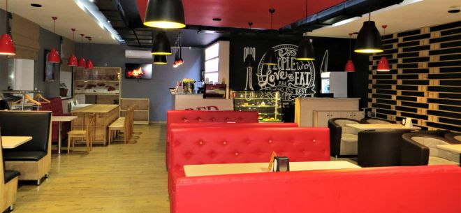 Кафе Pizza Red на Шарля де Голля