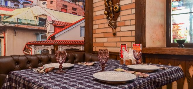 Ресторан Georgian House, 5