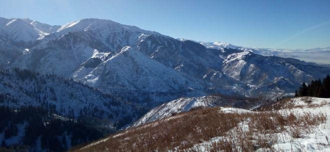 I love Almaty mountains, 2