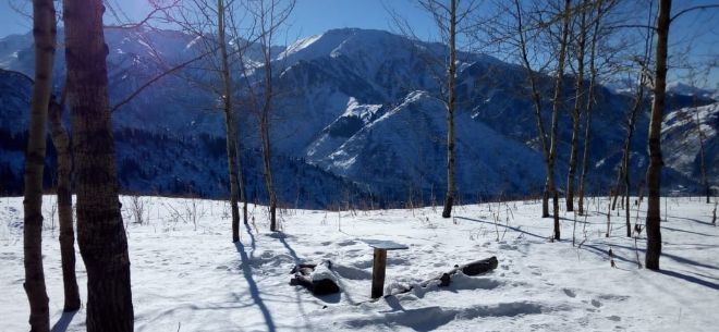 I love Almaty mountains, 3