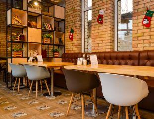 Вкусно, как дома! Аппетитнейшие блюда восточной и европейской кухни, а также бар в кафе «Бульон» со скидкой 50%!