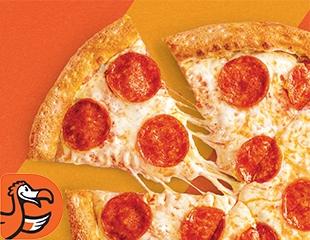 Широкий ассортимент всеми любимой пиццы! Все меню и бар в «Додо Пицце» на проспекте Жеңіс со скидкой 50%!