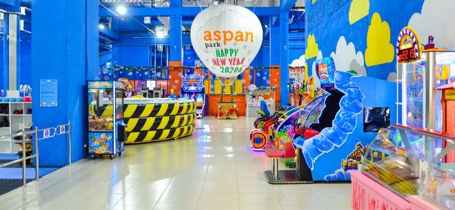 Aspan park в ТРЦ Forum