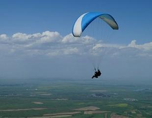 Подарите незабываемые эмоции! Романтический полет на параплане для двоих в тандеме с инструктором с горы Уш-Коныр от компании EXPERTANDEM и ассоциации «Независимые пилоты»! Скидка до 60%!