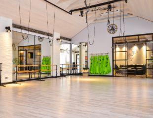 Новые эмоции от фитнеса! Jumping, фитнес и балет для взрослых и детей в студии VIP&FLY ALATAU со скидкой до 58%!