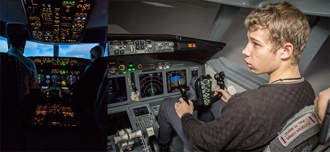 Полеты на авиасимуляторе Boeing 737 NG, 7
