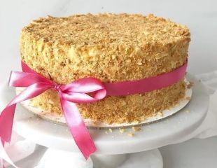 Сладкий тортик для вашего праздника! «Красный бархат», «Вупи Пай», «Молочная девочка», «Дамские пальчики», «Фисташковый рулет», «Сникерс», «Морковный торт» от Ардак Нурсеитовой со скидкой до 50%!