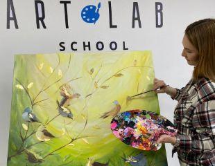 Для яркого и интересного досуга! Мастер-классы по рисованию для детей и взрослых от современной школы рисования «АртЛаб» со скидкой до 74%!