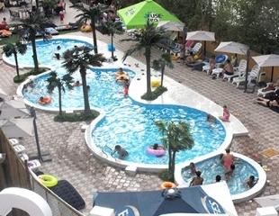 Встречайте лето с Sunrise! Бассейны для взрослых и детей, джакузи до 40 градусов на открытом воздухе, сауна и хамам со скидкой 50%!