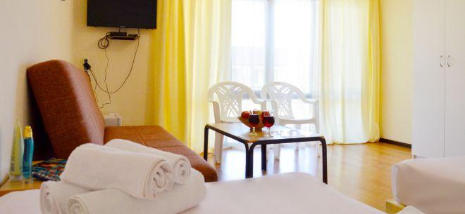 Отель «Бриз» на озере Алаколь