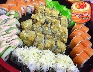 Готовьте Ваши палочки! Скидка до 50% на сеты и пиццу с доставкой от Legenda Sushi!