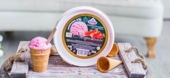 Кокшетауское мороженое