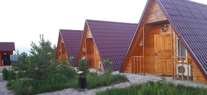 База отдыха «Фортъ Верный» на Алаколе