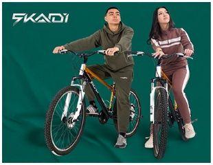 Прокат велосипедов, палаток и других аксессуаров для активного отдыха в сети магазинов проката Skadi со скидкой до 43%!