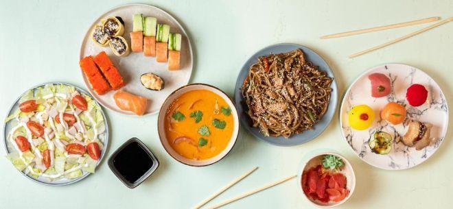 Ресторан азиатской кухни My Box