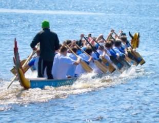 Полезно и увлекательно! Гребля на лодках «Дракон» для одного человека и компании до 10 человек со скидкой 50%!