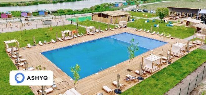 Зона отдыха Kamishy Eco Resort