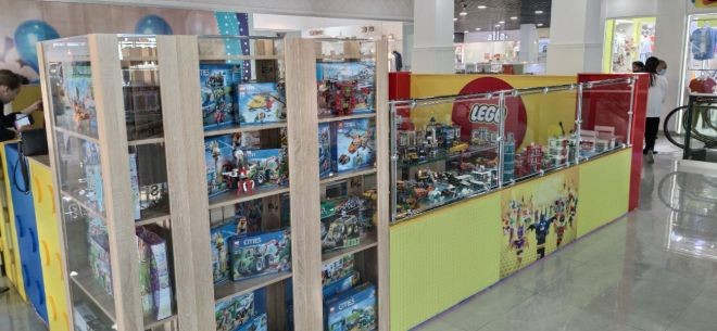 Lego City в Diamond plaza
