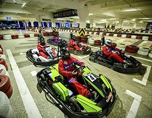Время овладеть скоростью! Картинг со скидкой до 50% в выходные и будние дни на картодроме Formula 13!