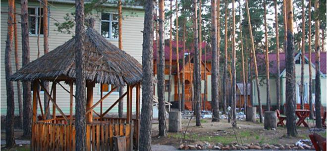 Зона отдыха Bura Eco Hotel