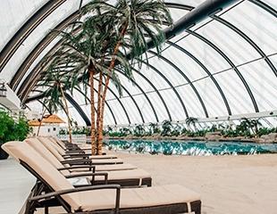 Лето круглый год! Песчаный пляж, бассейны и море позитива в Пляжном Клубе Sky Beach Club в ТРЦ Хан Шатыр! Скидка до 30%!